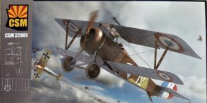 Nieuport XVII Early Version in 1:32 von CopperStateModels #32001
