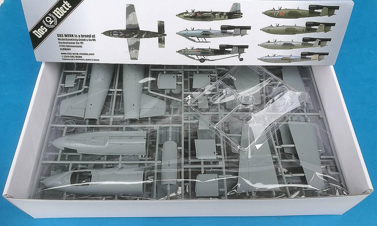 Das-Werk-DW-32001-Junkers-Ef-126-Elli-Ef-127-Walli-52 Junkers EF 126 / 127 Elli / Walli in 1:32 von Das Werk #DW32001