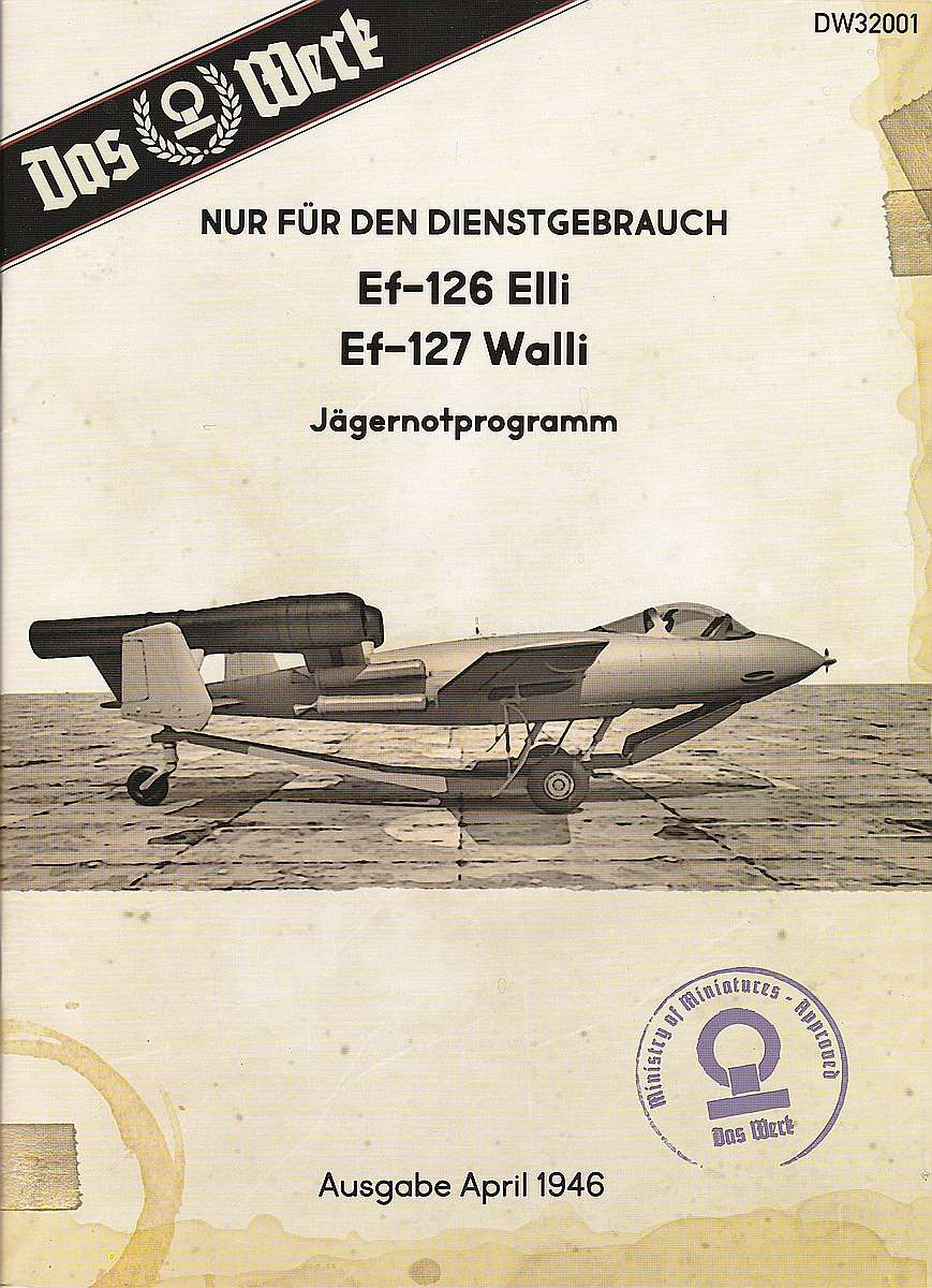 Das-Werk-DW-32001-Junkers-Ef-126-Elli-Ef-127-Walli-Bauanleitung-1 Junkers EF 126 / 127 Elli / Walli in 1:32 von Das Werk #DW32001