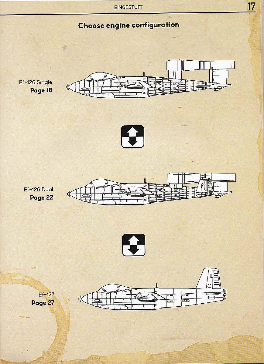 Das-Werk-DW-32001-Junkers-Ef-126-Elli-Ef-127-Walli-Bauanleitung-17 Junkers EF 126 / 127 Elli / Walli in 1:32 von Das Werk #DW32001