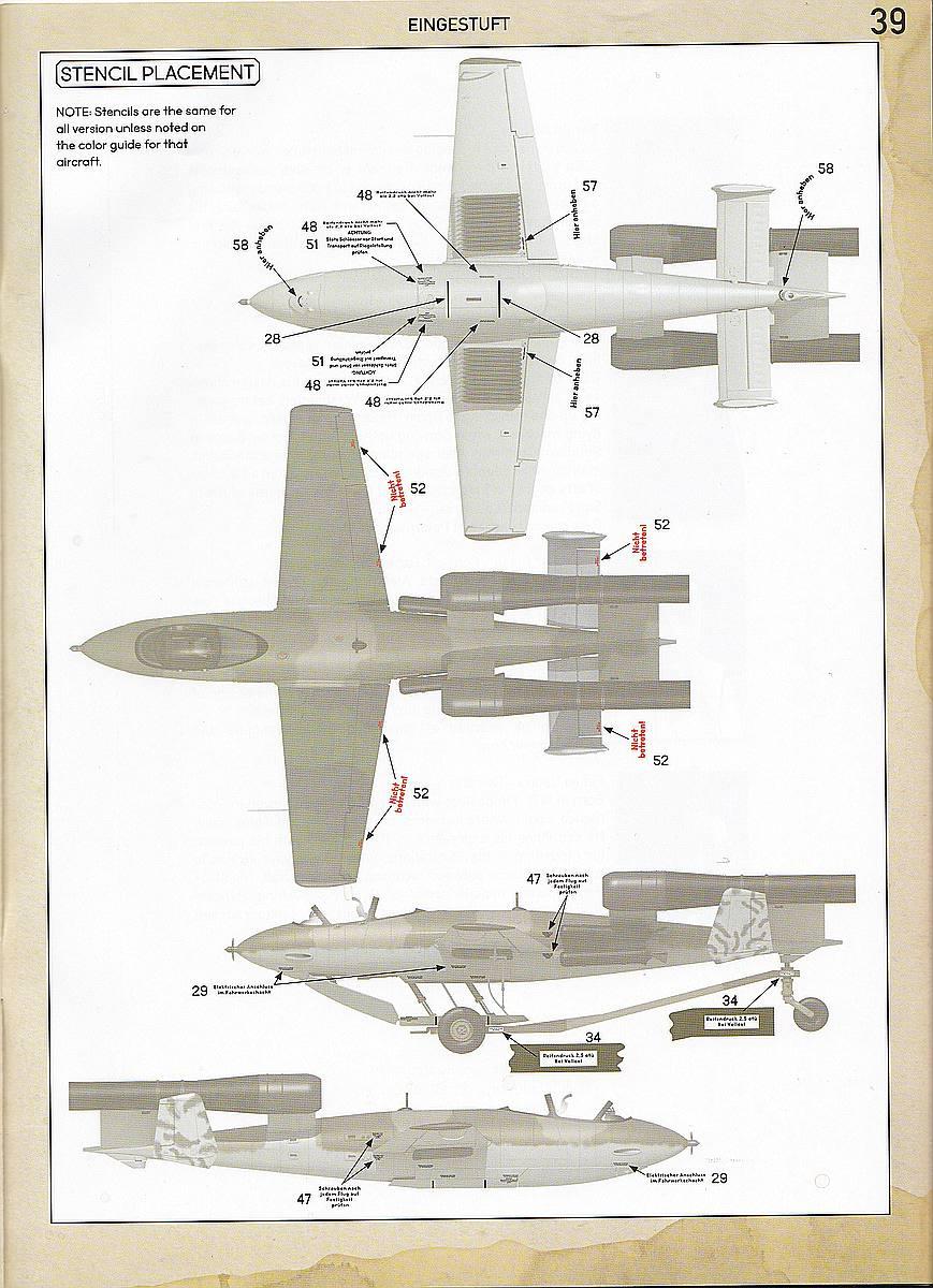 Das-Werk-DW-32001-Junkers-Ef-126-Elli-Ef-127-Walli-Bemalungsanleitung-9 Junkers EF 126 / 127 Elli / Walli in 1:32 von Das Werk #DW32001