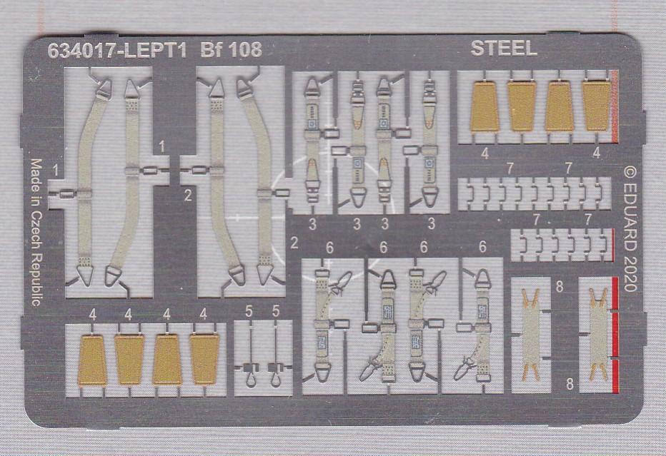 Eduard-634017-Bf-108-Löök-2 Zubehör für die brandneue Bf 108 Taifun in 1:32 von Eduard