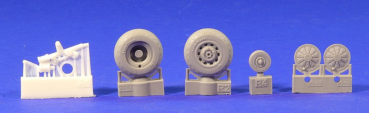 Eduard-648335-P-51D-Wheels-for-Airfix-5 Eduard Zubehör für die P-51D in 1:48 von Airfix Teil 2