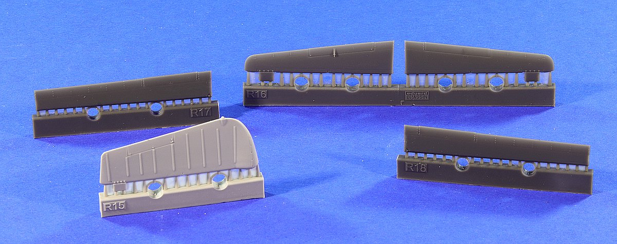 Eduard-648345-P-51D-Control-surfaces-for-Airfix-7 Eduard Zubehör für die P-51D in 1:48 von Airfix Teil 2