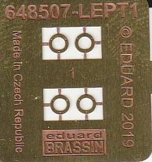 Eduard-648507-SUU-14-Dispenser-10 SUU-14 Dispenser/Streubombenwerfer von Eduard in 1:48 #648507