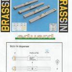 Eduard-648507-SUU-14-Dispenser-12-150x150 SUU-14 Dispenser/Streubombenwerfer von Eduard in 1:48 #648507