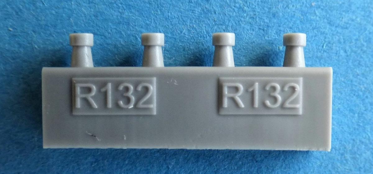 Eduard-648507-SUU-14-Dispenser-9 SUU-14 Dispenser/Streubombenwerfer von Eduard in 1:48 #648507