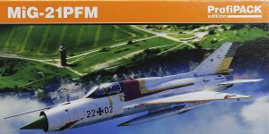 MiG-21PFM in 1:72 von Eduard #70144