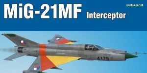 MiG-21MF in 1:72 von Eduard als WEEKEND-Edition #7453