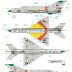 Eduard-7453-MiG-21MF-WEEKEND-Bauanleitung-15-150x150 MiG-21MF in 1:72 von Eduard als WEEKEND-Edition #7453