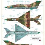 Eduard-7453-MiG-21MF-WEEKEND-Bauanleitung-16-150x150 MiG-21MF in 1:72 von Eduard als WEEKEND-Edition #7453