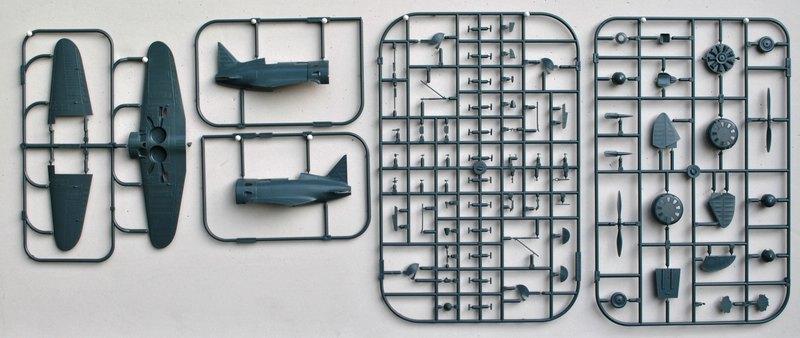 Eduard-8149-I-16-24 Polikarpov I-16 Typ 24 (Eduard 8149)