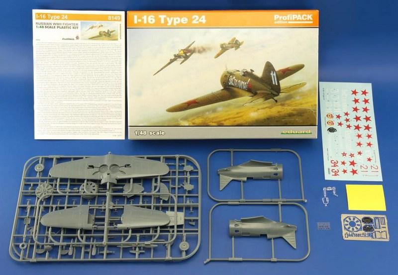Eduard-8149-I-16-50 Polikarpov I-16 Typ 24 (Eduard 8149)