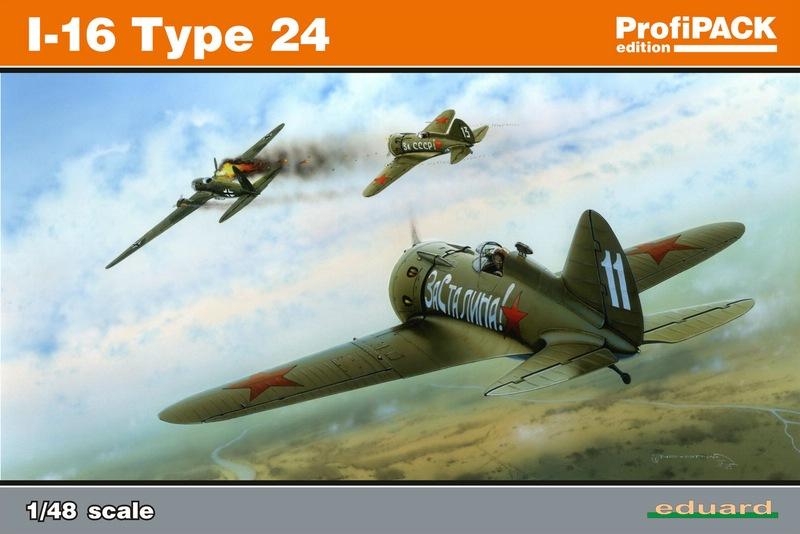 Eduard-8149-I-16-51 Polikarpov I-16 Typ 24 (Eduard 8149)