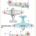 Eduard-8149-I-16-59-150x150 Polikarpov I-16 Typ 24 (Eduard 8149)