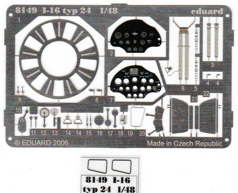 Eduard-8149-I-16-69 Polikarpov I-16 Typ 24 (Eduard 8149)