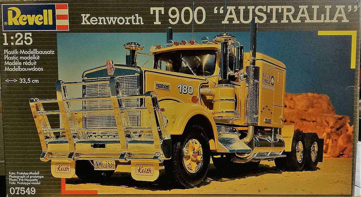 Revell-07549-kenworth-T-900-Australia Kenworth W-900 in 1:25 von Revell #07659