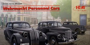 Wehrmacht Personnel Cars (Opel) – ICM 1/35