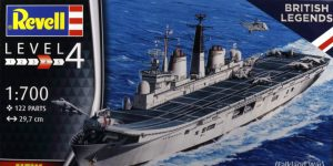 HMS Invincible (Falkland War) – Revell 1/700