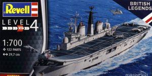 HMS Invincible (Falkland War) – Revell 1/700