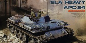 SLA Heavy APC-54 im Maßstab 1:35 von MiniArt #37055