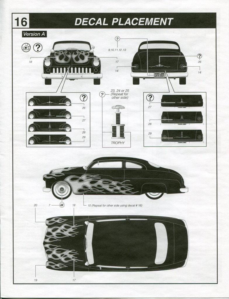 Review_Revell_49_Mercury_3in1_84 '49 Mercury Custom Coupe - Revell 1/25