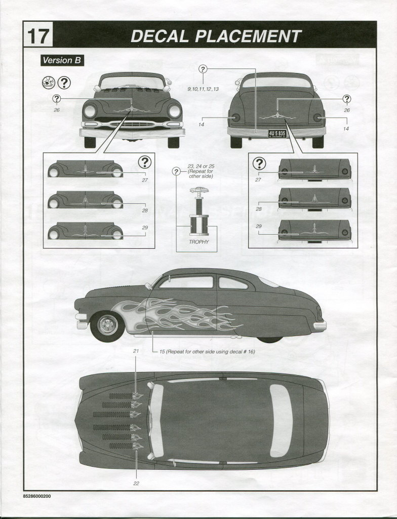 Review_Revell_49_Mercury_3in1_85 '49 Mercury Custom Coupe - Revell 1/25