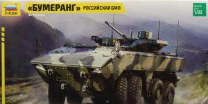 "Russian 8×8 APC ""BUMERANG"" – Zvezda 1/35"