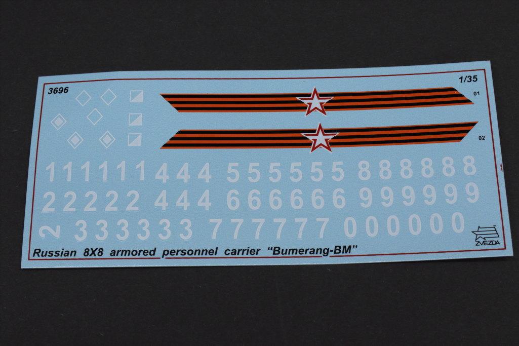 "Review_Zvezda_Bumerang_35 Russian 8x8 APC ""BUMERANG"" - Zvezda 1/35"