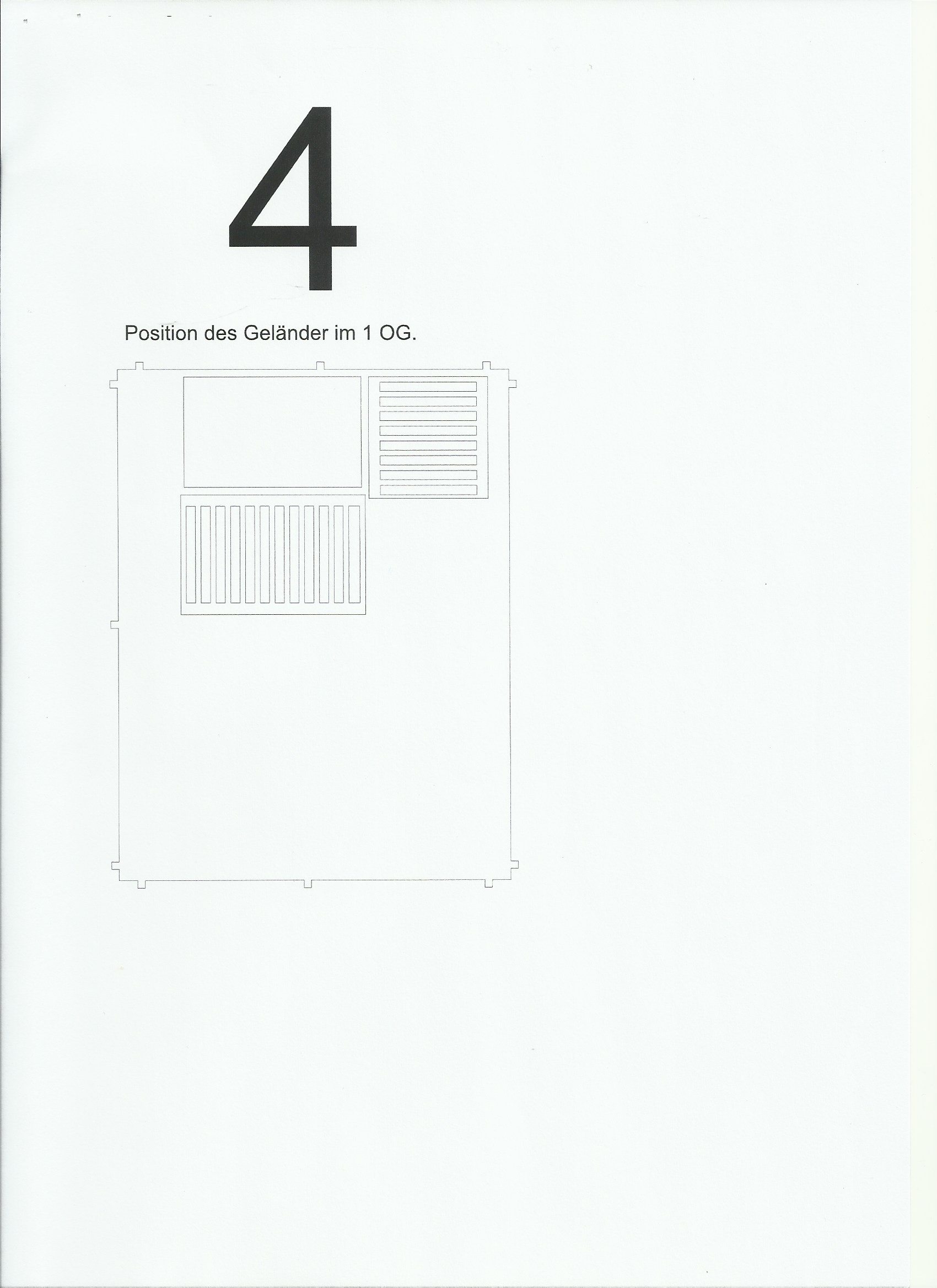 Scan_20200413-4 Fachwerkhaus mit Holzschuppen - Lasercut Modellbaushop 1:35