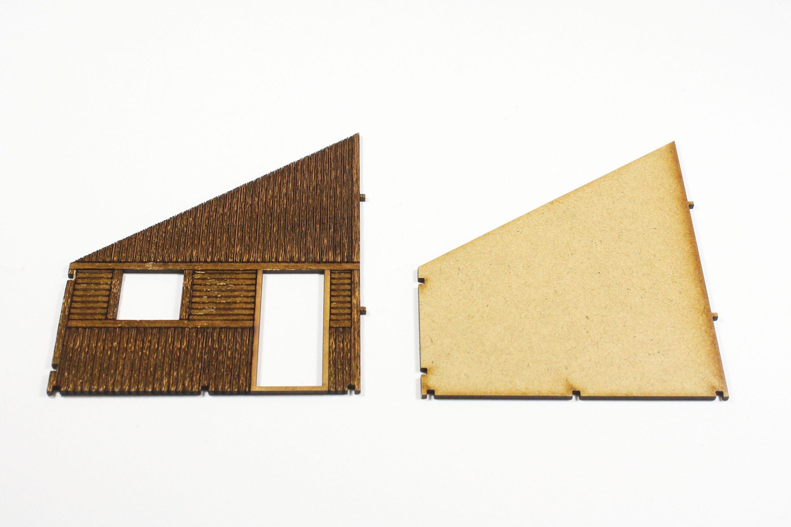 Schuppen-1-scaled Fachwerkhaus mit Holzschuppen - Lasercut Modellbaushop 1:35