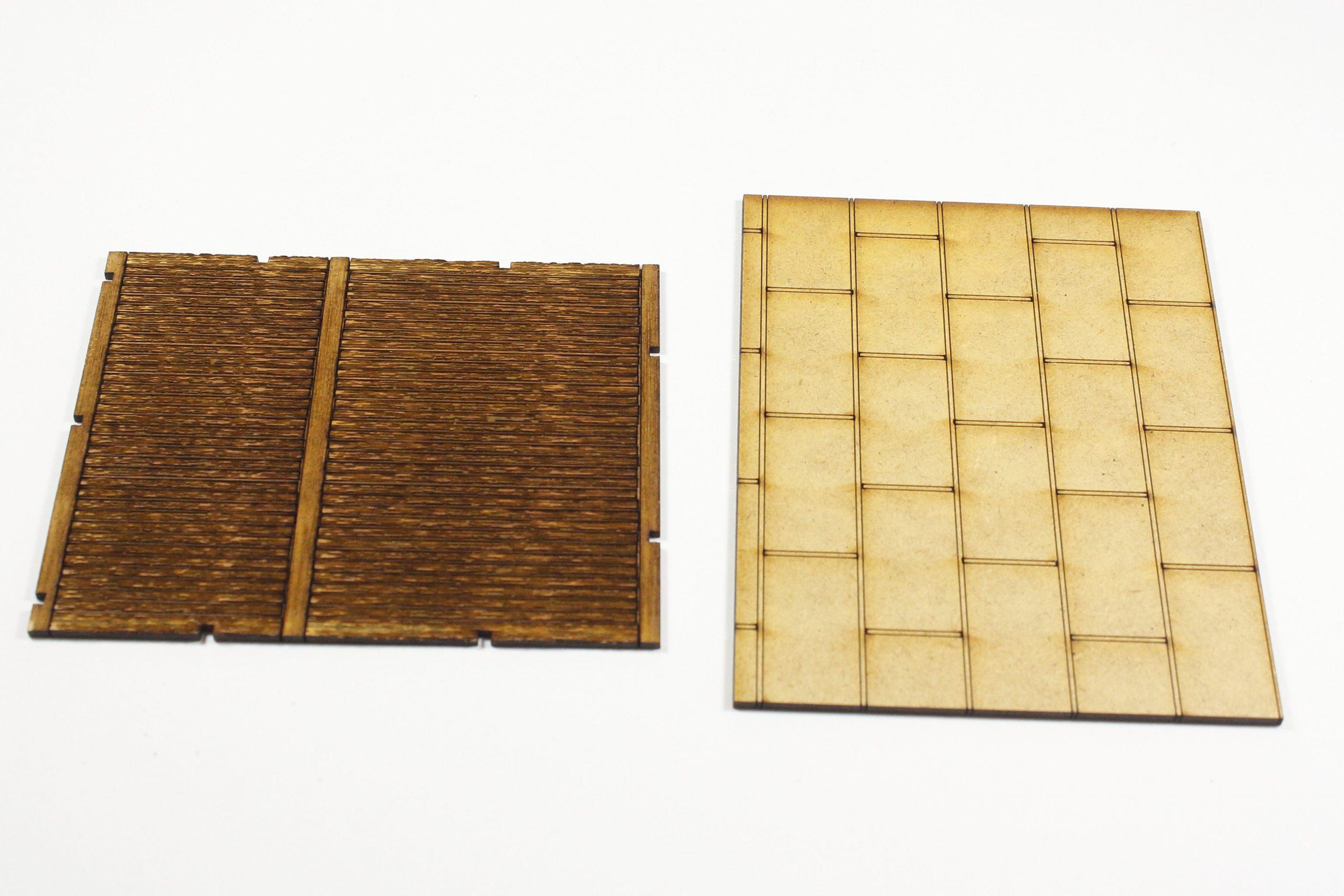 Schuppen-3JPG-scaled Fachwerkhaus mit Holzschuppen - Lasercut Modellbaushop 1:35