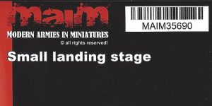 Small landing Stage 1:35 MAIM (#MAIM35690)