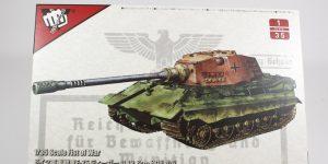 "Modelcollect UA35012 German Heavy Tank E-75 mit 12,8cm L/55 ""Tiger III"" 1:35"