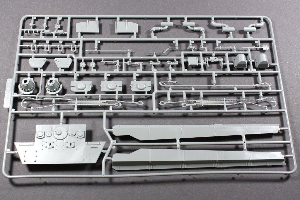 "4 Modelcollect UA35012 German Heavy Tank E-75 mit 12,8cm L/55 ""Tiger III"" 1:35"