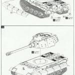 "Anleitung10-150x150 Modelcollect UA35012 German Heavy Tank E-75 mit 12,8cm L/55 ""Tiger III"" 1:35"
