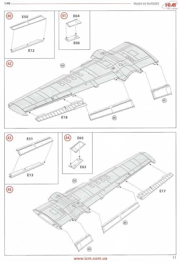 Anleitung11-1 Douglas A-26С-15 Invader ICM 1:48 (#48283)