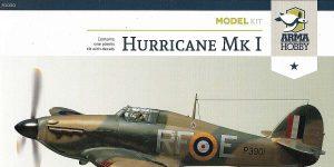 Hawker Hurricane Mk. I in 1:72 von Arma Hobby #70020