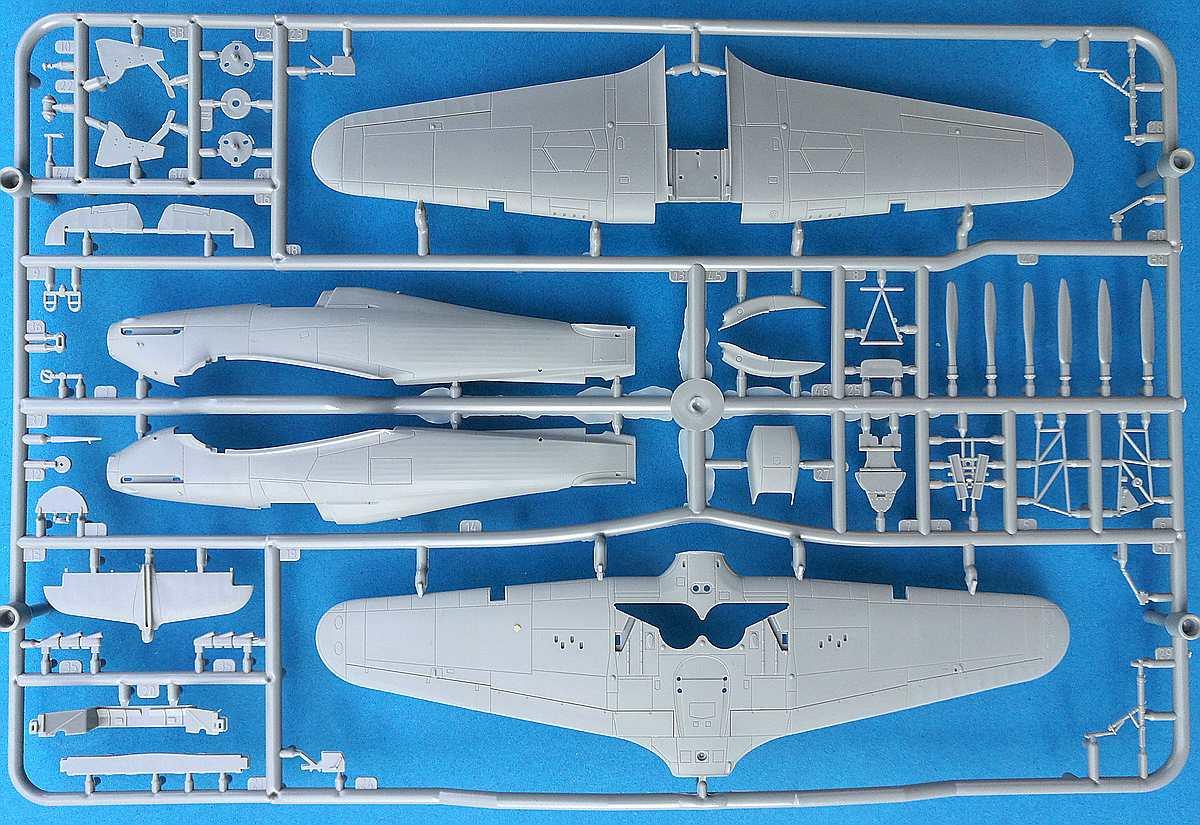 Arma-Hobby-70020-Hurricane-Mk.-I-14 Hawker Hurricane Mk. I in 1:72 von Arma Hobby #70020