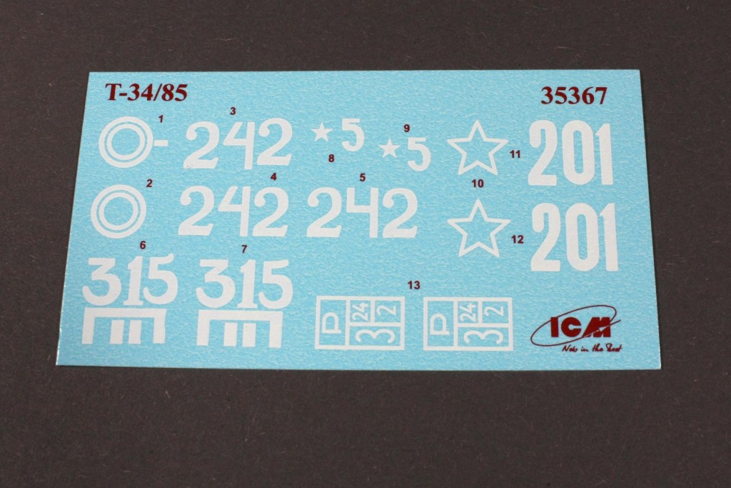 Decals ICM DS3506, Battle of Berlin (April 1945) 1:35