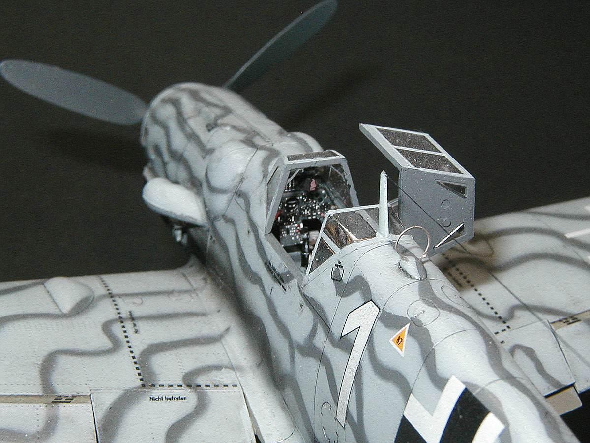 Eduard-82112-Bf-109-G-5-gebaut-5 Gebaut: Messerschmitt Bf 109 G-5 in 1:48 von Eduard # 82112