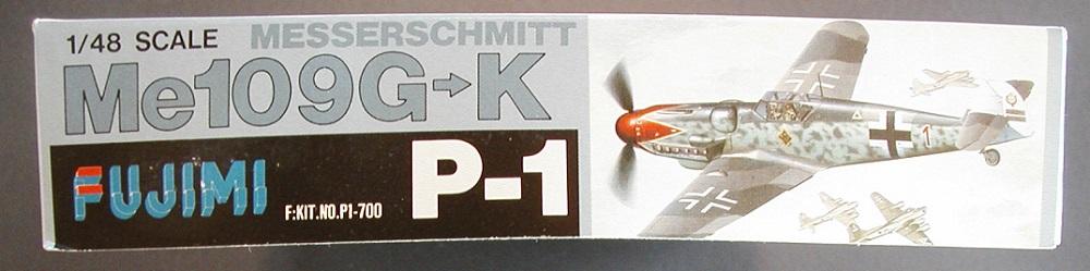 """Fujimi-P-1-Messerschmitt-Bf-109-G-K-2 """"Es muss nicht immer Eduard sein"""" - heute: Bf 109 G-K von Fujimi"""