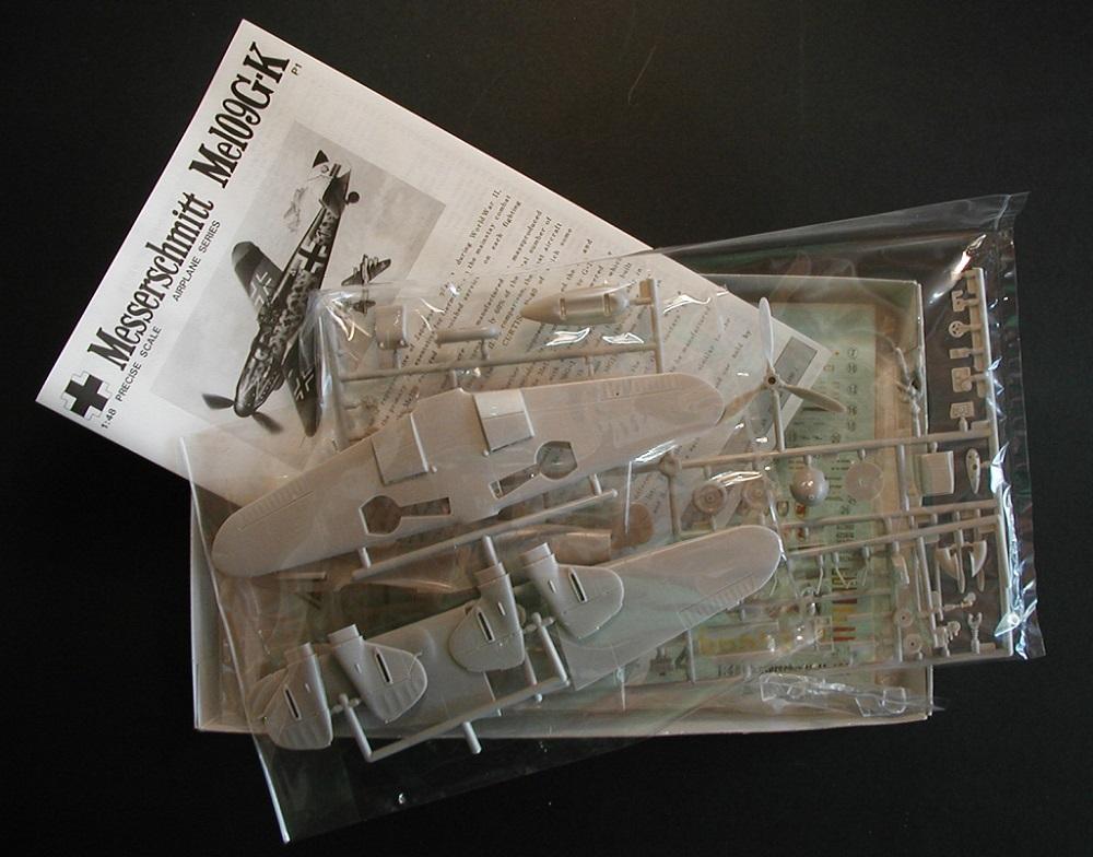 """Fujimi-P-1-Messerschmitt-Bf-109-G-K-3 """"Es muss nicht immer Eduard sein"""" - heute: Bf 109 G-K von Fujimi"""