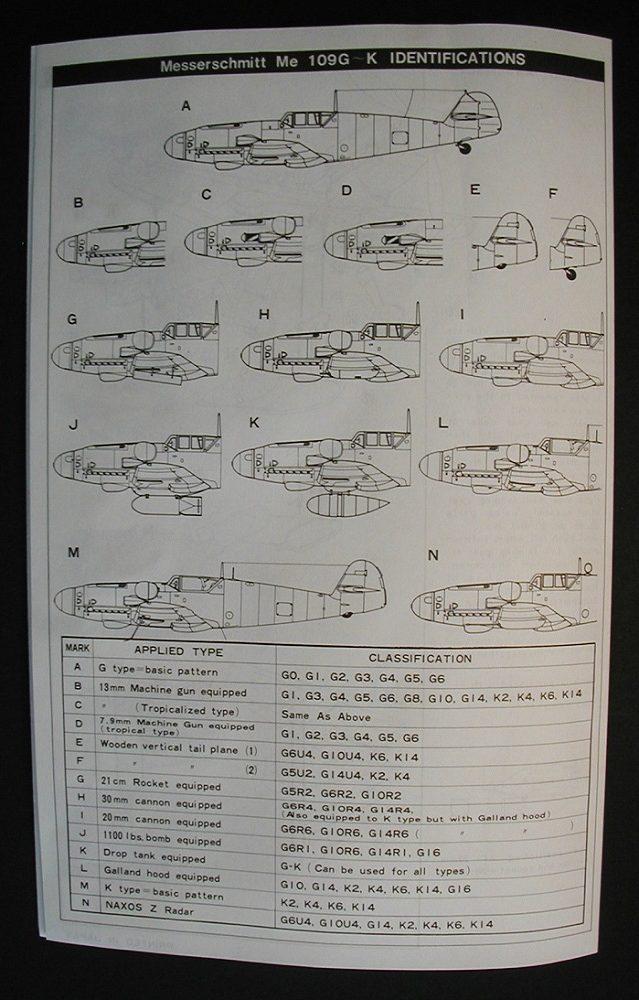 """Fujimi-P-1-Messerschmitt-Bf-109-G-K-9-rotated """"Es muss nicht immer Eduard sein"""" - heute: Bf 109 G-K von Fujimi"""