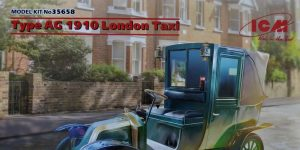 London Taxi von ICM in 1:35 #35658