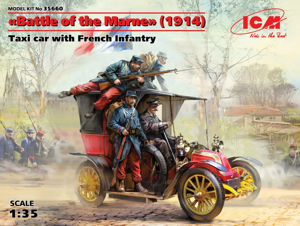 ICM-35705-French-infantry-on-the-march-1914-3 French infantry on the march 1914 in 1:35 von ICM #35705