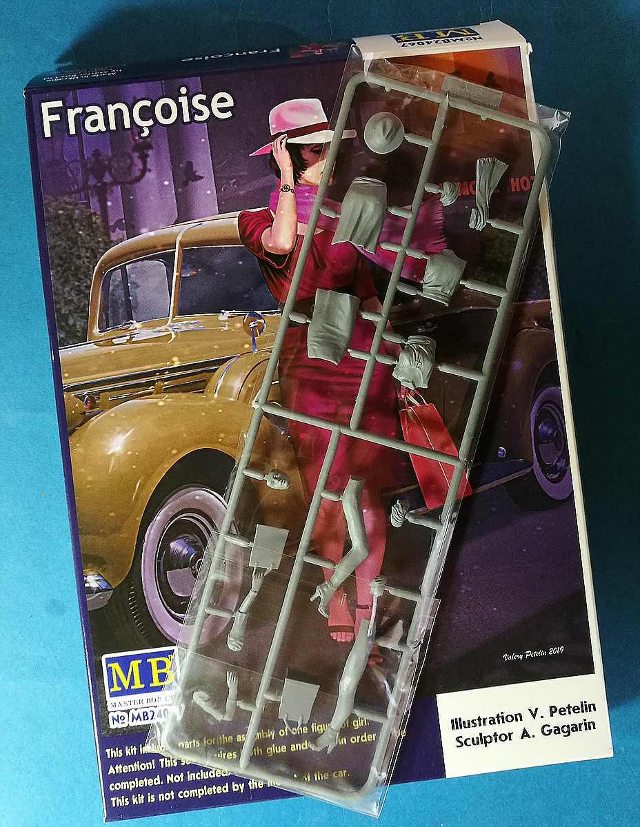 MasterBox-24067-Francoise-3 Francoise in 1:24 von MasterBox # 24067