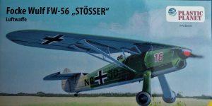 Focke Wulf FW 56 Stößer in 1:48 PlasticPlanet #48005
