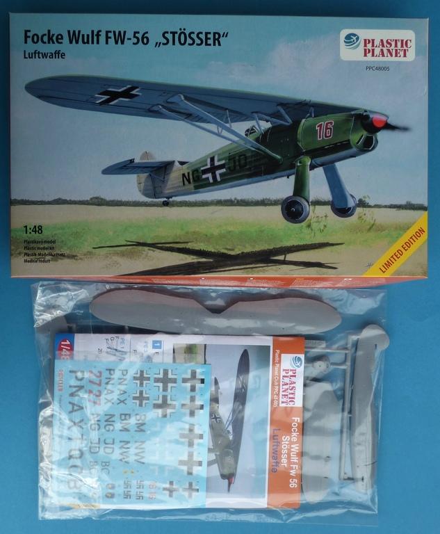 Plastic-Planet-48-005-FW-56-Stößer-2 Focke Wulf FW 56 Stößer in 1:48 PlasticPlanet #48005