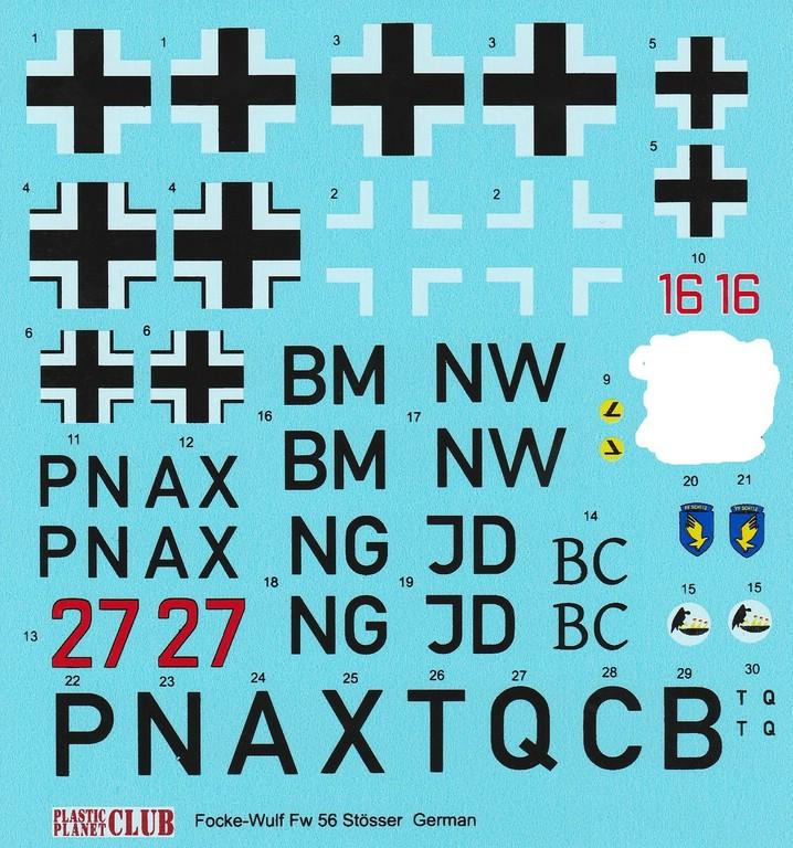Plastic-Planet-48-005-FW-56-Stößer-20 Focke Wulf FW 56 Stößer in 1:48 PlasticPlanet #48005